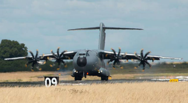 French 7 A400M - French air force