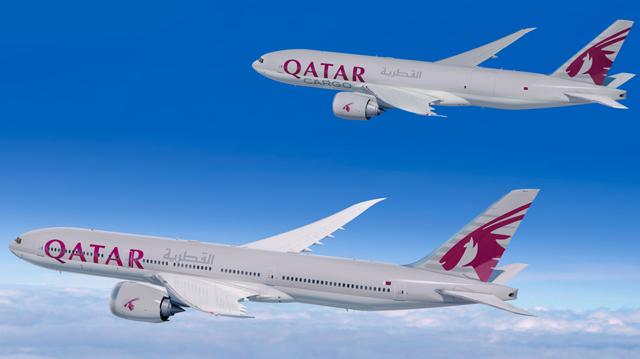 Qatar 777X and 777F