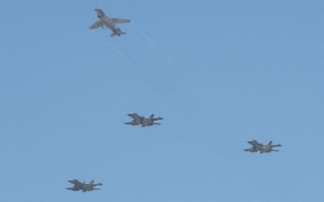 USN Prowler and Growler - Northrop Grumman
