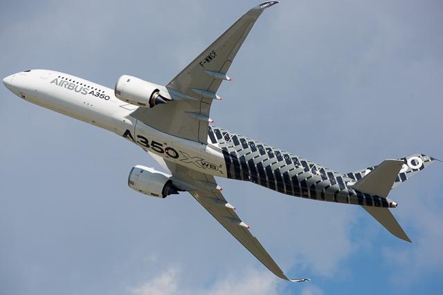 Airbus A350 at Oshkosh