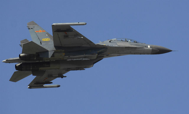 Chinese Su-27 c US Air Force + Staff Sgt D Myles C