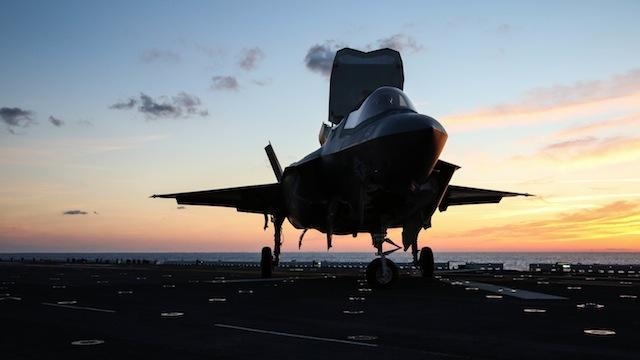 F-35B sunrise