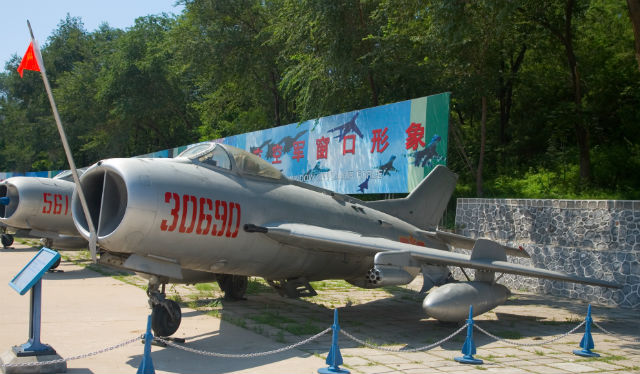 F-6 fighter at the China Aviation Museum c Max Smi