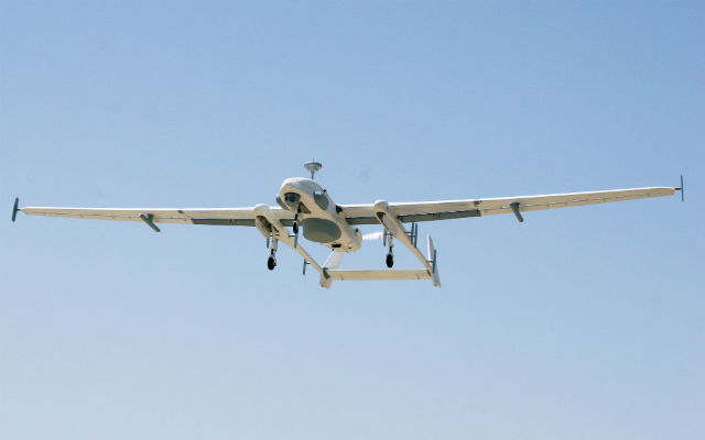 Heron Thales NATO datalink test - IAI