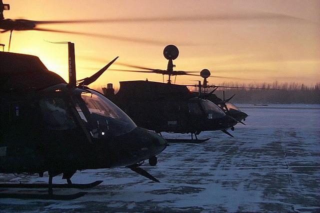 OH-58D Kiowas