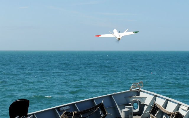 RN Sulsa 3D print UAV - Crown Copyright
