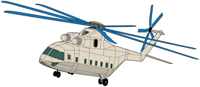 Russia-China heavylift concept c Russian Helicopte