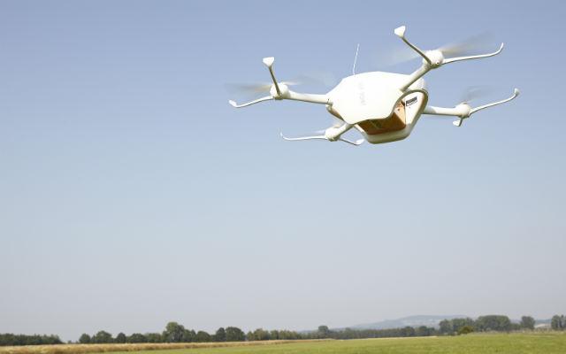 Swiss Post Matternet One UAV - Swiss Post
