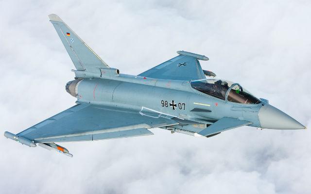 Typhoon IPA7 AMK trials - Airbus D&S