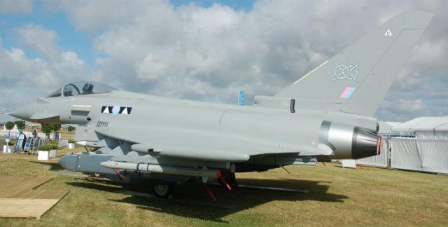 Typhoon replica RIAT 2015