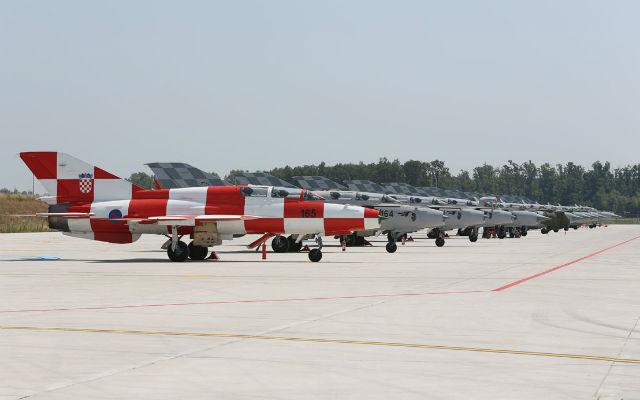 Croatian AF Mig-21s - S. Brigljevic/Croatian MoD