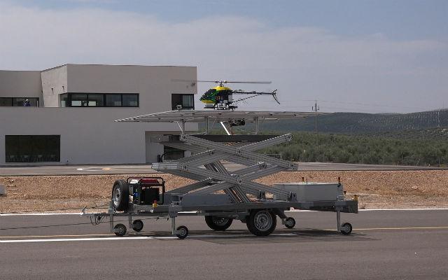 EC-Safemobil UAV landing - FADA-CATEC