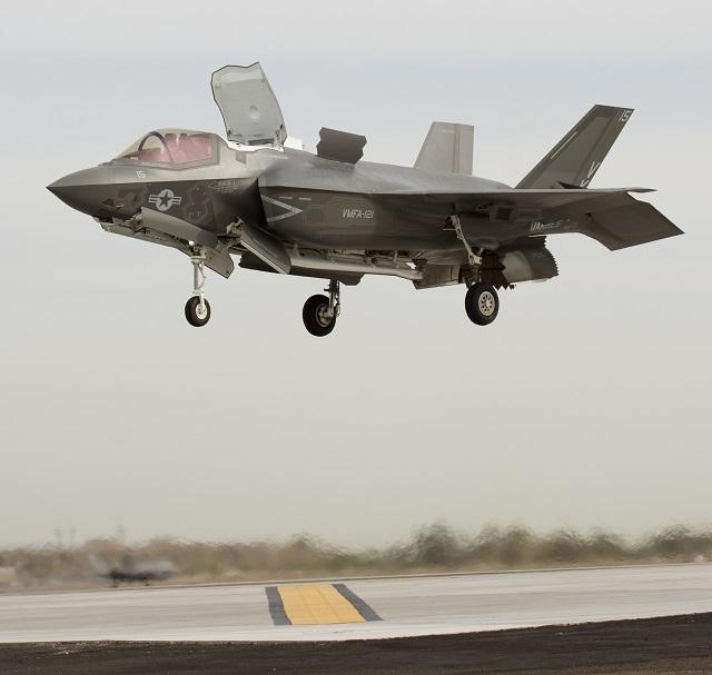 F-35B IOC. Lockheed Martin