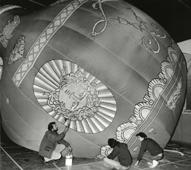 Montgolfier replica c REX