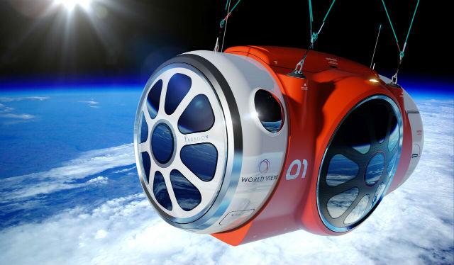 World View capsule c World View