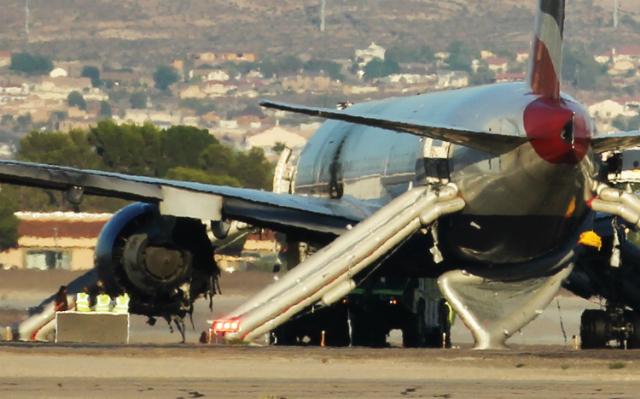 BA 777 at Las Vegas
