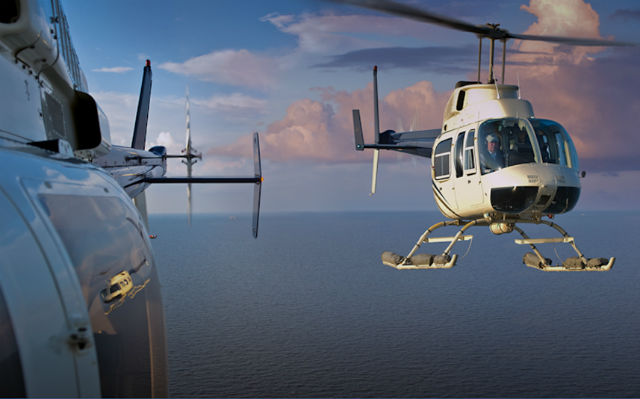 Bell 206L4 c Bell