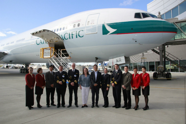 Cathay Pacific 70th 777 aircraft