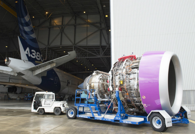 First Trent XWB-97 flight-test engine