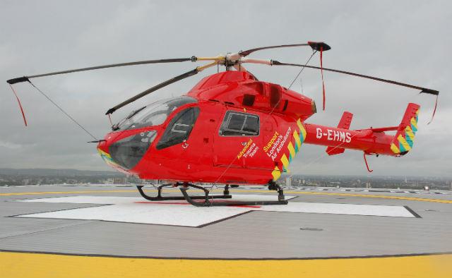 London's Air Ambulance MD902 helipad - Craig Hoyle