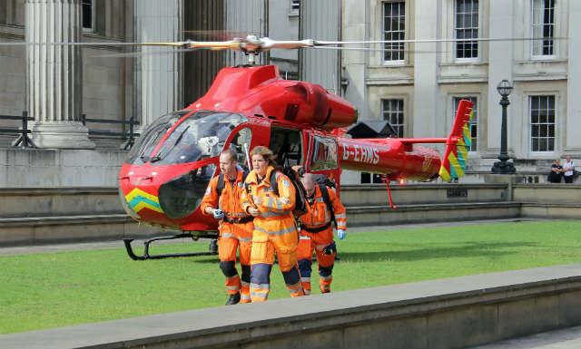 London's Air Ambulance MD902 trauma team - Matthew