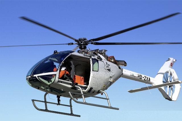 Marenco SKYe SH90 flying