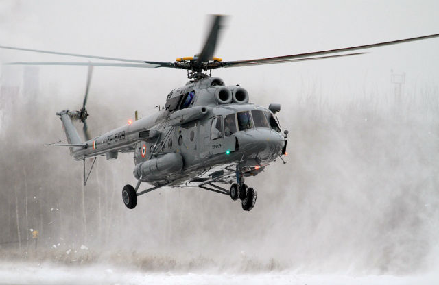 Mi-17 V5 India - Russian Helicopters