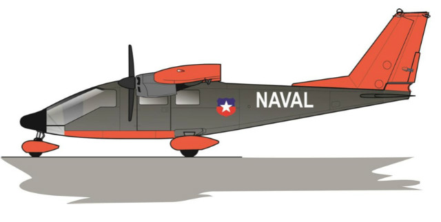 P68 Chilean navy - Vulcanair