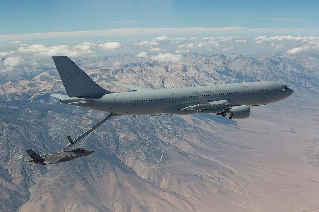 RAAF KC-30A refuels F-35A 2