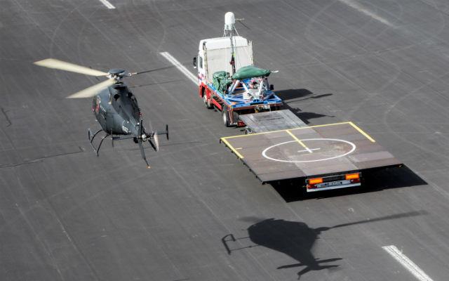 RN RWUAS CCD trial - AgustaWestland
