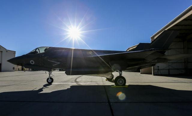 UK F-35B - Crown Copyright