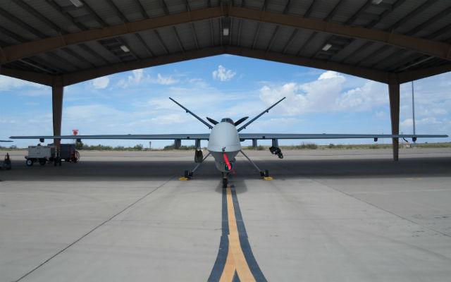 USAF MQ-9 at Holloman AFB - Beth Stevenson