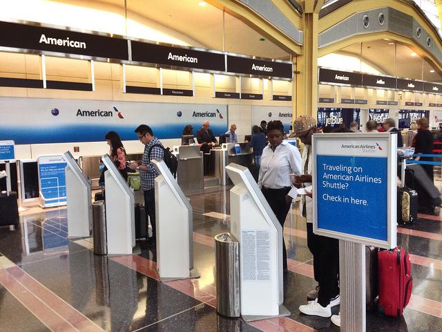 AA Shuttle Counter