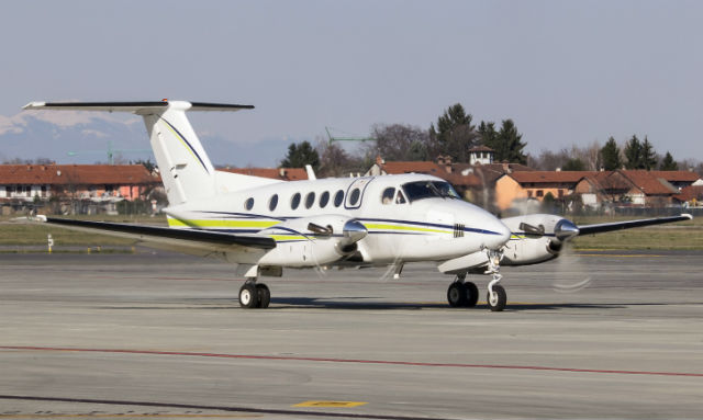 Crashed King Air - AirTeamImages