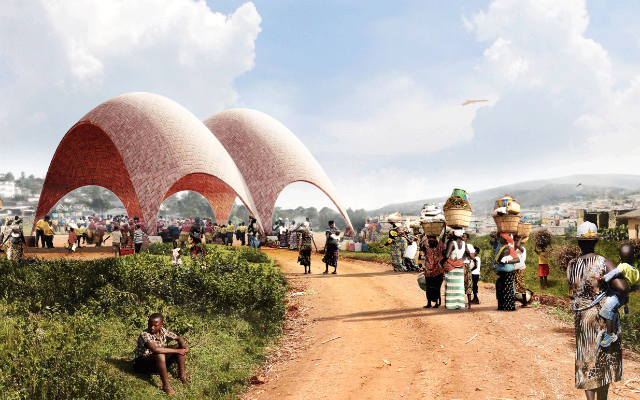 Droneport - Foster + Partners