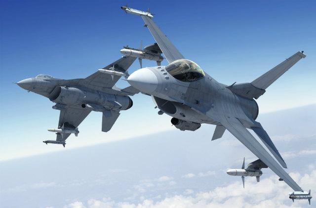 F-16V pair - Lockheed Martin