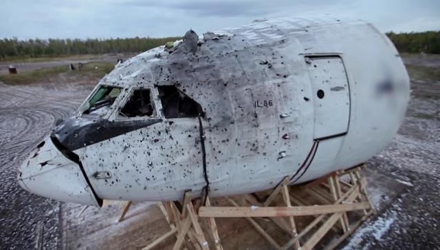 Il-86 demo for MH17
