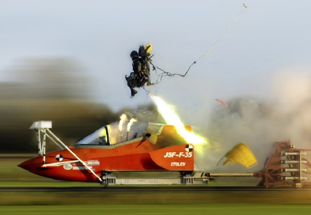 Martin-Baker F-35 ejection seat