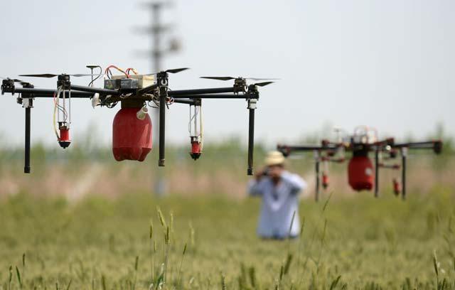 Precision agriculture UAV