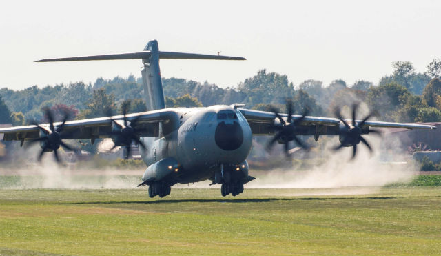 A400M grass - Airbus Defence & Space