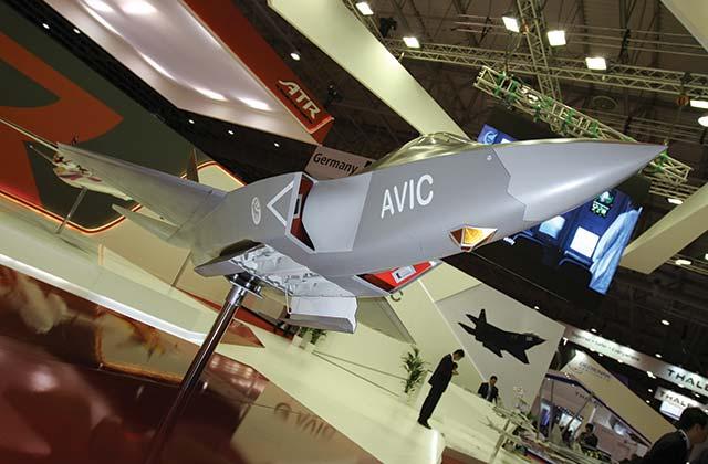 AVIC stealth fighter model