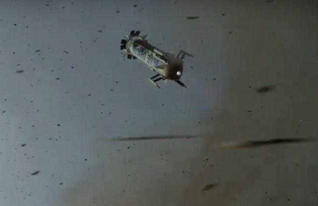 Blue Origin's New Shepard space vehicle