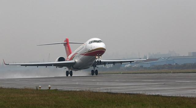 Chengdu ARJ21 delivery -2