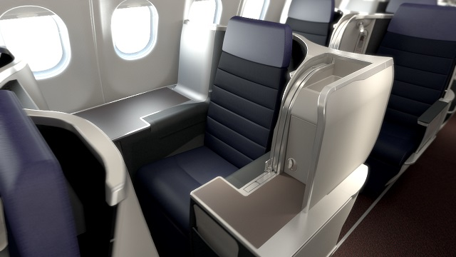 Malaysia Airlines new A330 business class seats