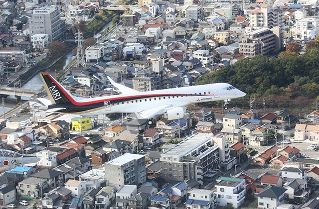 MRJ First flight