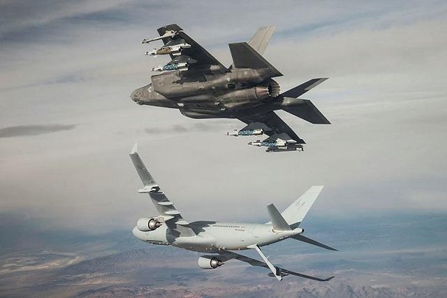 RAAF refuels KC-35A