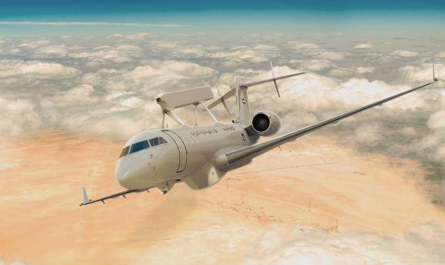 UAE Global 6000 - Saab