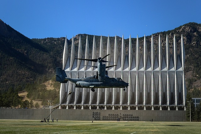 V-22 at Air Force Academy