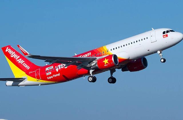 Vietjet A320 first flight