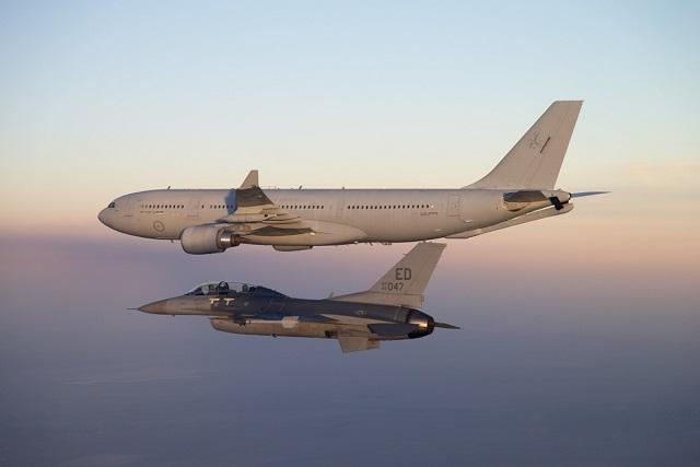 A330 MRTT F-16